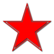 Russian Star Decal