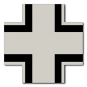 German Cross Graphic 2 Decal