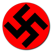 Swastika graphic 1 Decal