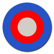 British Roundel 1 Decal