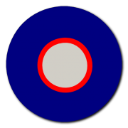 British Roundel 2 Decal