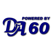 Powered by DA 60 Decal