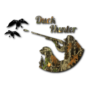 duck hunter Decal