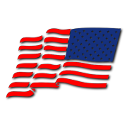 Flag Left Decal