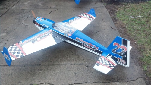 Extreme Flight 78inch Extra race scheme