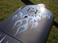 Awesome DA Flame decal