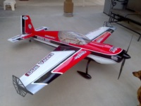 Extreme Flight 78 inch Extra with custom graphics