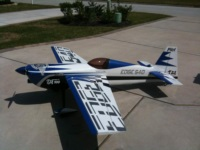 Awesome Pilot RC Edge 540 with big graphics