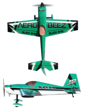 Aerobeez Slick Green