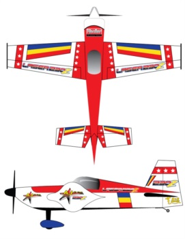 Aj Aircraft Laser 230 Red2