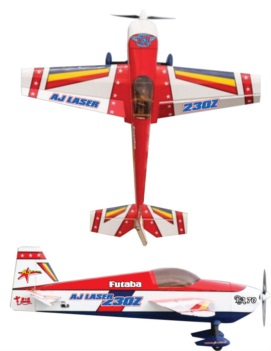 Aj Aircraft Laser 230 Red3