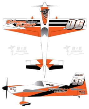 Extreme Flight 3Dhs Edge Orange4
