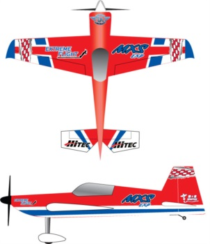 Extreme Flight Mxs Red3