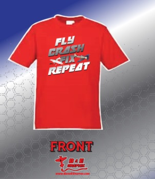 Fly Crash Fix Shirt