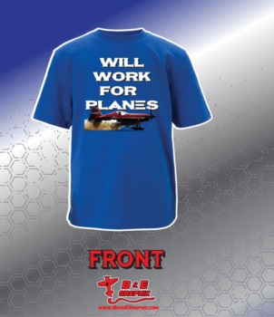 Work For Planes Shirt