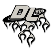 DL Flame Decal