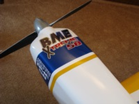 BME Extreme 58 cowl decal